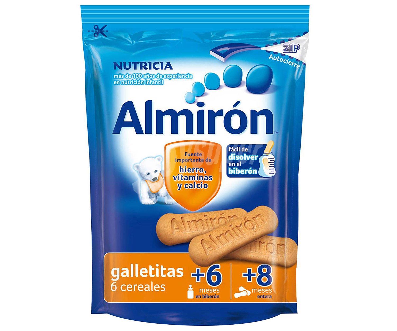 Almir n galletitas con 6 cereales para beb s a partir de 6 meses en biber n y a partir de 8 - Cereales bebe 5 meses ...