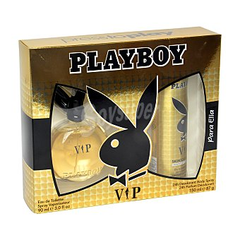 Playboy Fragrances Estuche VIP (colonia 90 ml. + desodorante 150 ml.) 1 ud