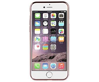 Muvit Funda trasera, oro rosa, compatible con iphone 7. (teléfono no incluido) 7 carcasa