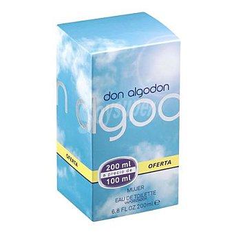 Don Algodón Agua de colonia con vaporizador 100 ml