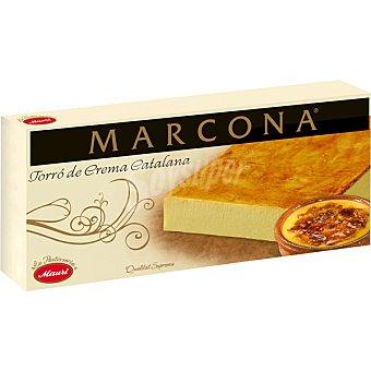 Marcona Turrón de crema catalana tableta 200 g Tableta 200 g