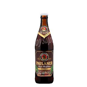 Paulaner Cerveza de trigo tostado Dunkel Botellín 50 cl
