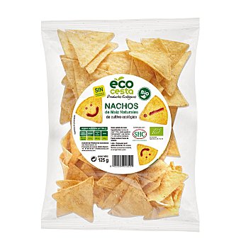 Ecocesta Bionachos de maíz sabor natural Bolsa 125 g