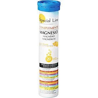 Special Line magnesio efervescente sabor limón  envase 20 unidades