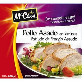 Mc Cain Pollo asado en láminas Bolsa 400 g