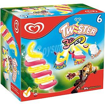 Frigo Helados Twister 3D Ice estuche 480 ml 6 unidades