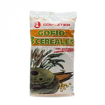 Comeztier Gofio tres cereales con garbanzos 500 g
