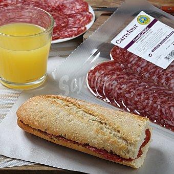 Carrefour Calidad y Origen Salchichón ibérico loncheado Sobre de 115 g