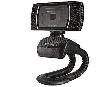 Trust Cámara Web trino, vídeo 720p, foto 8 mpx, micrófono incorporado, conexión Usb vídeo 720p, foto 8 mpx, micrófono incorporado, conexión Usb