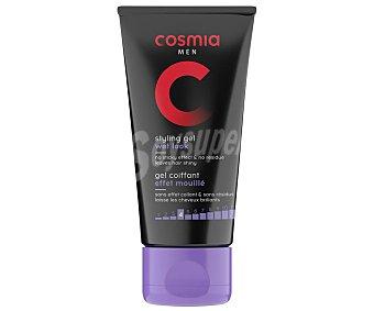 Cosmia Gel de peinado para hombre efecto mojado con acabado brillante 150 ml