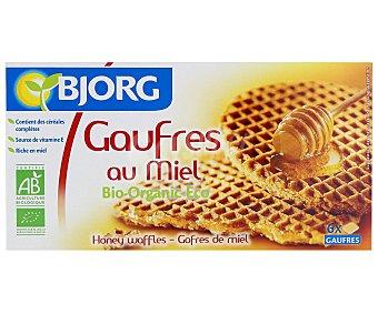 Bjorg Gofres Sabor a Miel Ecológico 175 Gramos