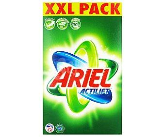 Ariel Detergente en Polvo 75 Cacitos