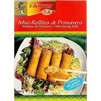 Fanya Mini rollitos de primavera con salsa agridulce Estuche 200 g