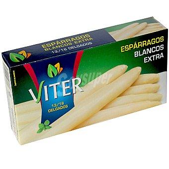 VITER Espárragos blancos extra delgados 13-16 piezas Lata 150 g neto escurrido