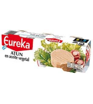 Eureka Atún en aceite vegetal Pack de 3x52 g