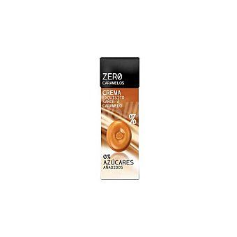 Caramelos zero Caramelos de crema de caramelo 0% azúcares añadidos Paquete 32 g