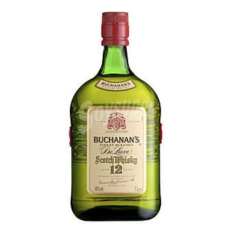 Buchanan's Finest Blended Scotch Whisky de 12 años. 1 l