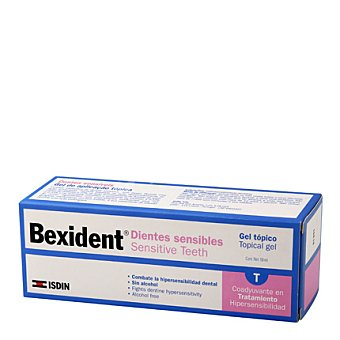 Isdin Bexident dientes sensibles gel 50 ml