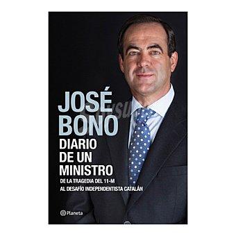 José Bono Libro Diario de un ministro 1 ud