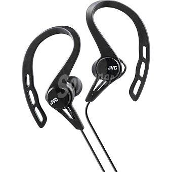 Jvc Auriculares deportivos de botón en color negro HA-ECX20-B-E 1 Unidad