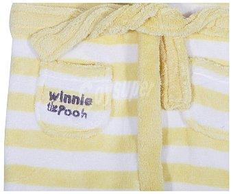 Disney Bata de bebe Winnie the Pooh, color amarillo, talla 68