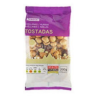 Eroski Avellanas tostadas Bolsa 200 g