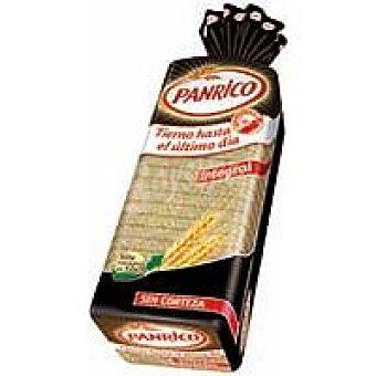 Panrico Pan de molde sin corteza 100% fibra natural Línea 450 g