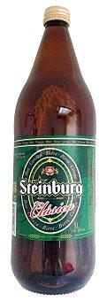 Steinburg Cerveza rubia Botella 1 l