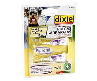 Dixie Pipetas insectífugas para perros pequeños (2-10 kg) 0,67 mililitros