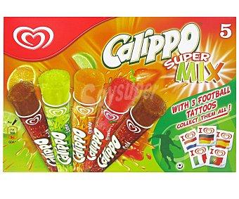 Calippo Frigo Calippo Supermix Pack 5x105 ml