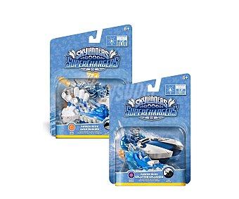 Skylanders Figura interactiva Vehículos azules Project Denim de Skylanders superchargers, 1 unidad