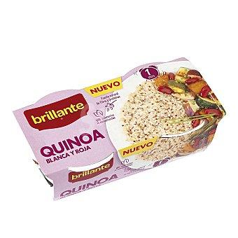 Brillante Quinoa blanca y roja Pack de 2 uds x 125 g