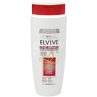 Elvive L'Oréal Paris Champú total repair 5 reconstituyente con pro-queratina y ceramida Frasco 700 ml