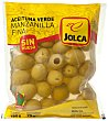 Aceitunas manzanilla sin hueso Bolsa 180 g / 75 g escurrido Jolca