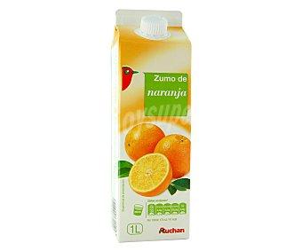 Auchan Zumo de naranaja con pulpa 1 l