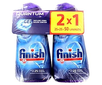 FINISH QUANTUM Detergente Lavavajillas Gel 1,36 Kg