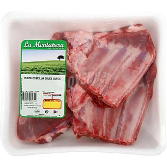 LA MONTAÑERA Puntas de costillas frescas de cerdo formato ahorro peso aproximado Bandeja 850 g