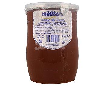 Montero Crema artesanal de yogur azucarado 500 g