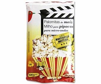 Auchan Palomitas de maíz sabor mantequilla 100 Gramos