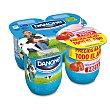 Yogur de fresa 4 unidades de 125 g Danone
