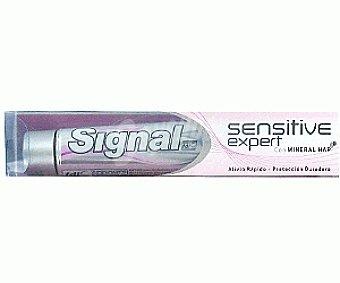 SIGNAL SENSITIVE EXP Dentífrico Alivia Rápido y Protección Duradera Dent. Prot. Duradera75ml