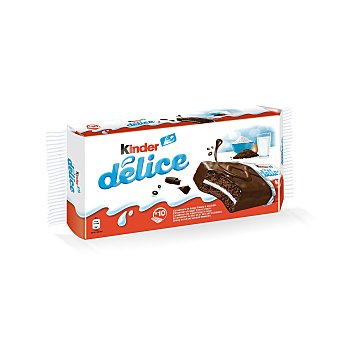 Kinder Chocolatina kinder delice Paquete 10 u