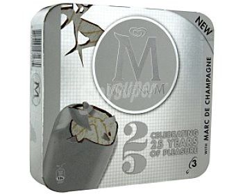 Magnum 25 aniversario frigo 3X100ML