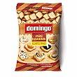 Mini tostadas de corte fino sabrosas y crujientes Bolsa 280 g Domingo