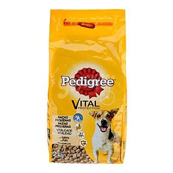 Pedigree Alimento de pollo-verdura perro pequeño Saco 2 kg