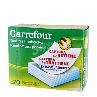 Carrefour Gamuza atrapa polvo 20 ud 20 ud