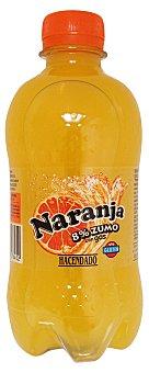 HACENDADO Naranja con gas 8% zumo Botellín de 33 cl