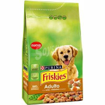 Friskies Purina Alimento de verduras perro adulto 1,5 kg