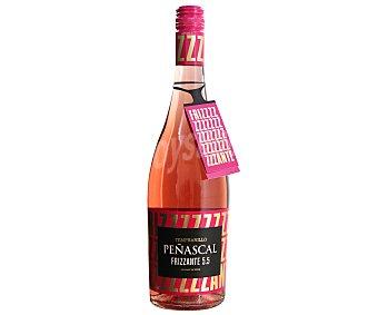 Peñascal Vino rosado tempranillo frizzante botella de 75 centilitros