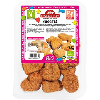 NATURSOY Tofu Kids Nuggets de tofu ecológicos Envase 170 g